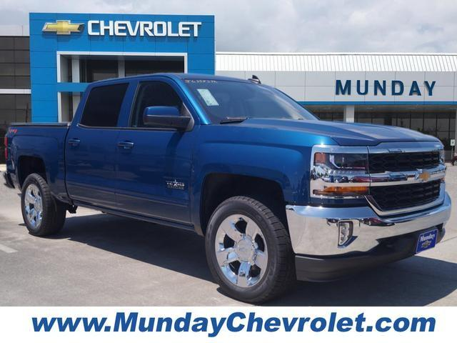 2018 Silverado 1500 Crew Cab 4x4,  Pickup #JG358372 - photo 1