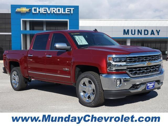 2018 Silverado 1500 Crew Cab 4x4,  Pickup #JG612599 - photo 1