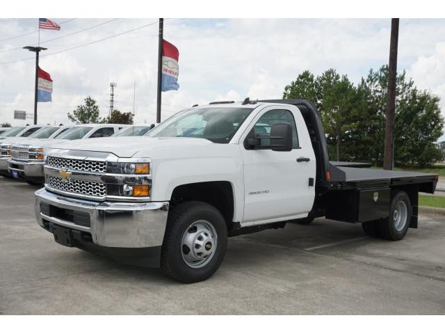 2019 Silverado 3500 Regular Cab DRW 4x2,  CM Truck Beds Platform Body #KF107673 - photo 4