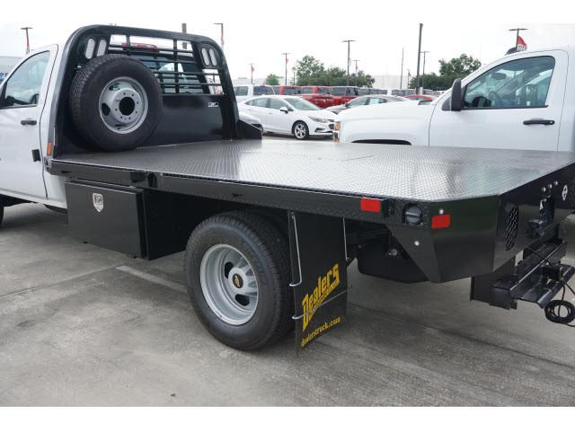 2019 Silverado 3500 Regular Cab DRW 4x2,  CM Truck Beds Platform Body #KF107673 - photo 2