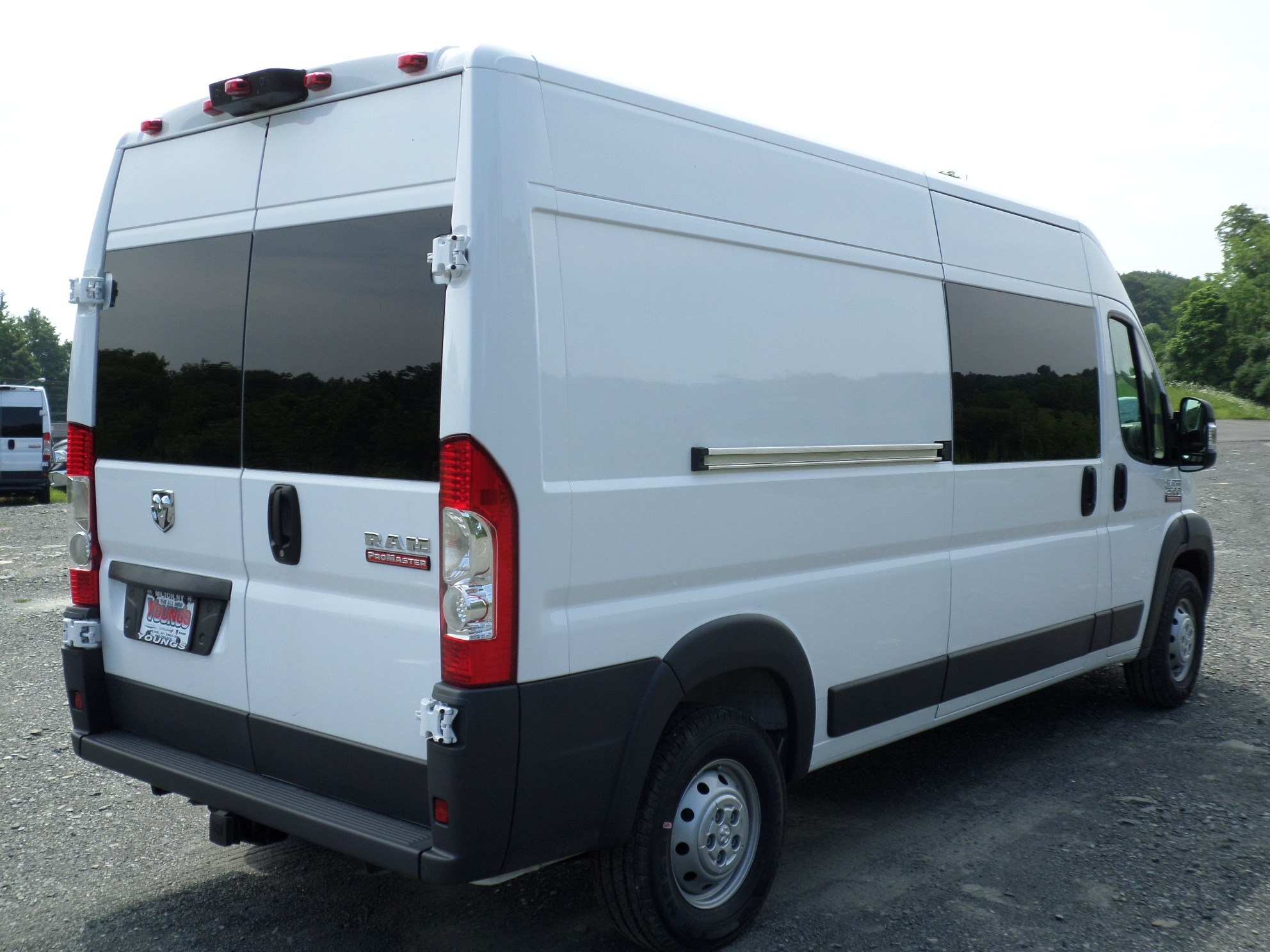 2018 ProMaster 2500 High Roof FWD,  Ranger Design General Service Upfitted Cargo Van #JE102536 - photo 7