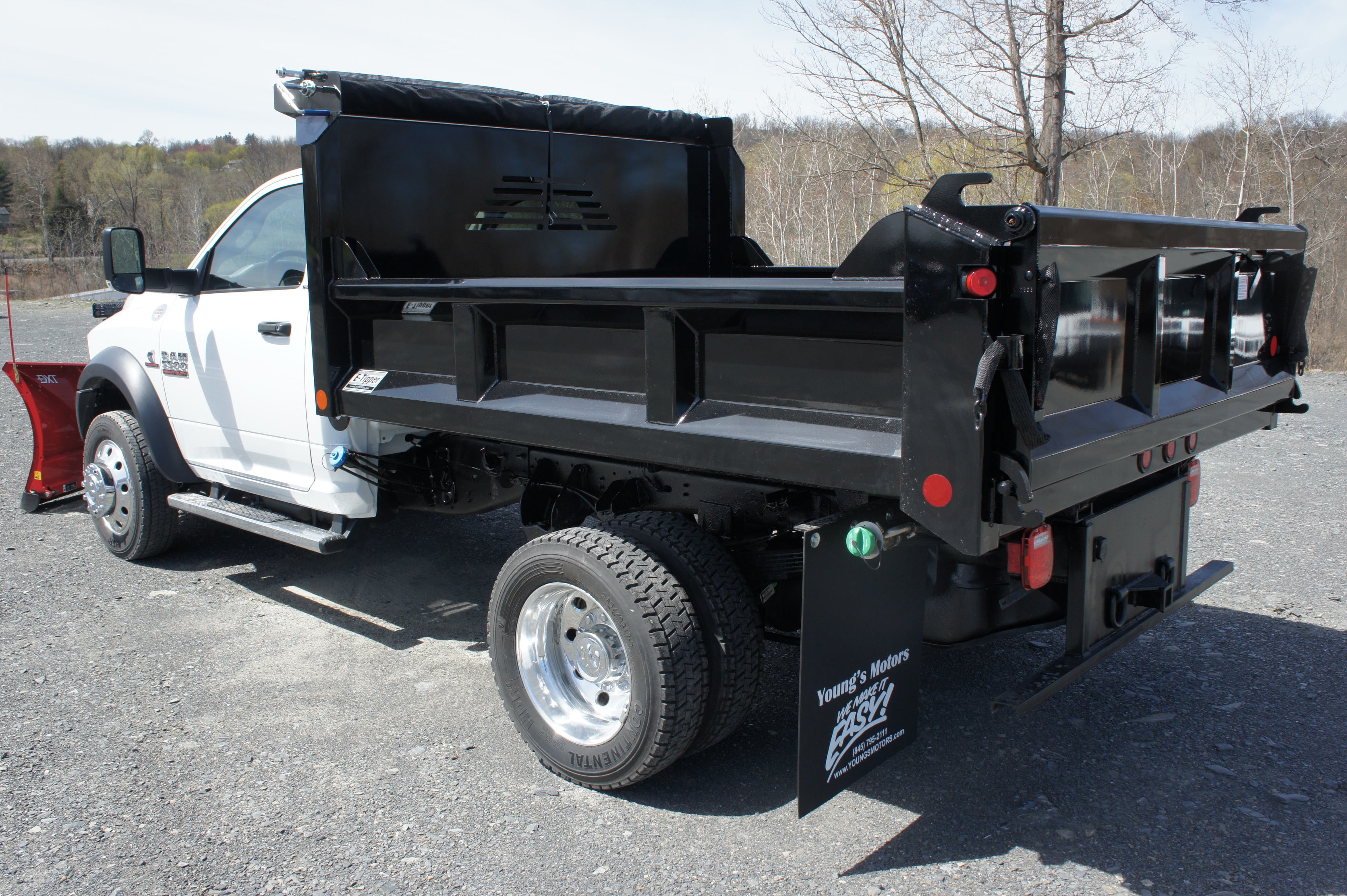 2018 Ram 5500 Regular Cab DRW 4x4,  Crysteel E-Tipper Dump Body #JG157545 - photo 2