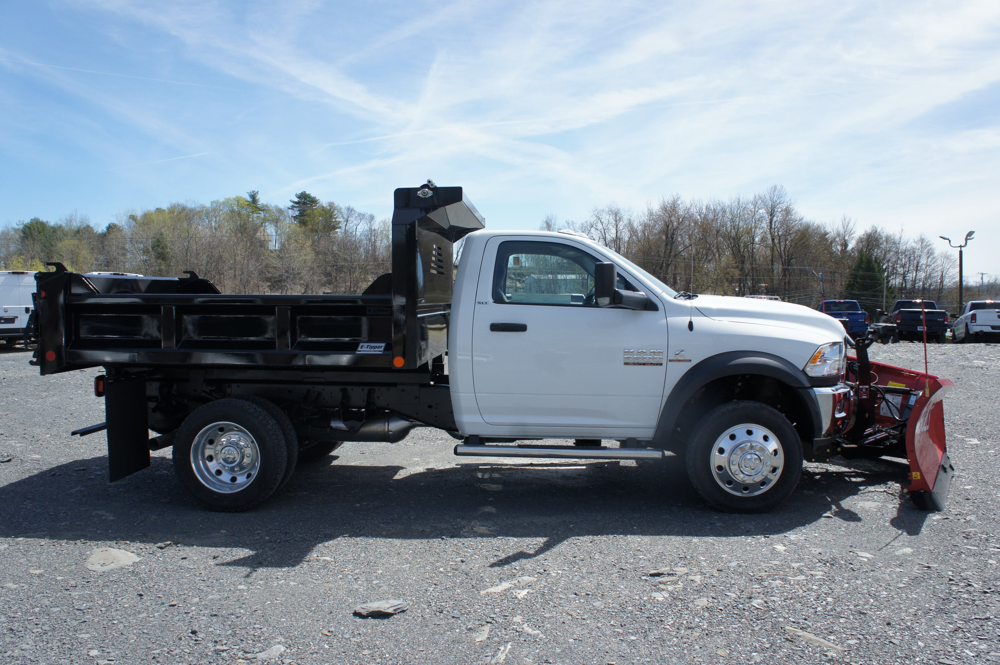 2018 Ram 5500 Regular Cab DRW 4x4,  Crysteel Dump Body #JG157545 - photo 6
