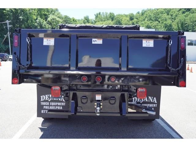 2018 F-450 Super Cab DRW 4x4,  Rugby Dump Body #58226 - photo 2