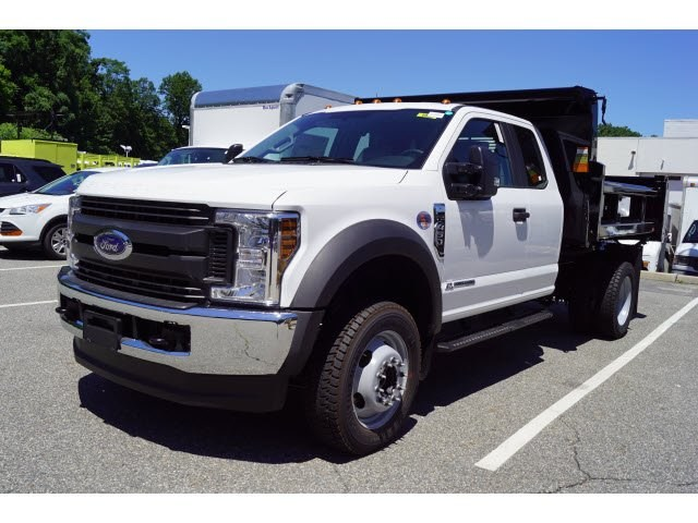 2018 F-450 Super Cab DRW 4x4,  Rugby Dump Body #58226 - photo 4