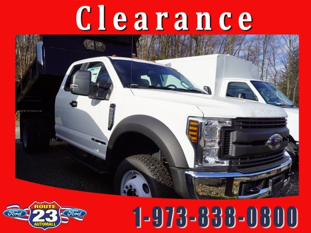 2018 F-450 Super Cab DRW 4x4,  Rugby Dump Body #58226 - photo 1
