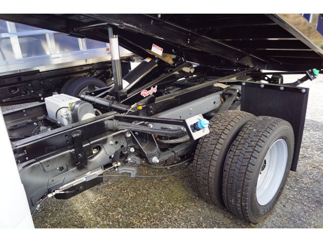 2018 F-450 Super Cab DRW 4x4,  Rugby Eliminator LP Steel Dump Body #58226 - photo 6