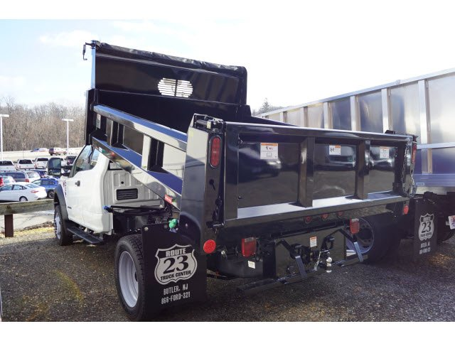 2018 F-450 Super Cab DRW 4x4,  Rugby Eliminator LP Steel Dump Body #58226 - photo 7
