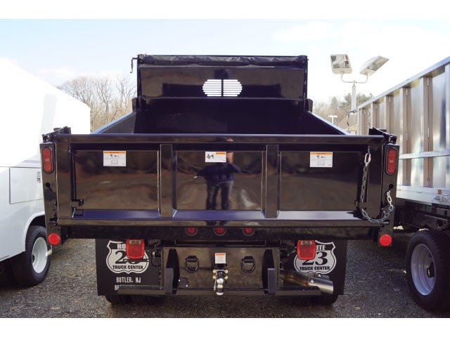 2018 F-450 Super Cab DRW 4x4,  Rugby Eliminator LP Steel Dump Body #58226 - photo 9