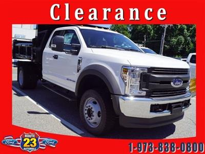 2018 F-450 Super Cab DRW 4x4,  Rugby Eliminator LP Steel Dump Body #58226 - photo 1