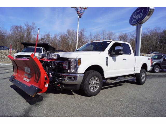 2019 F-350 Super Cab 4x4, Western Snowplow Pickup #58534 - photo 4