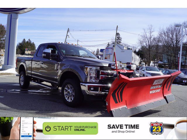2019 F-350 Super Cab 4x4,  Western Snowplow Pickup #58801 - photo 1