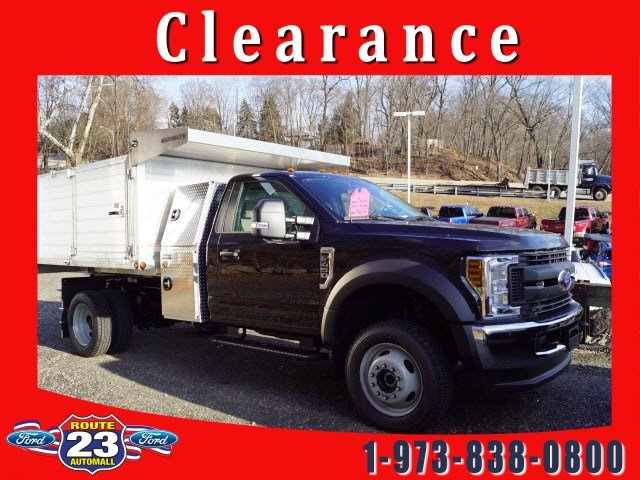 2019 F-450 Regular Cab DRW 4x4,  Duramag Landscape Dump #58842 - photo 1