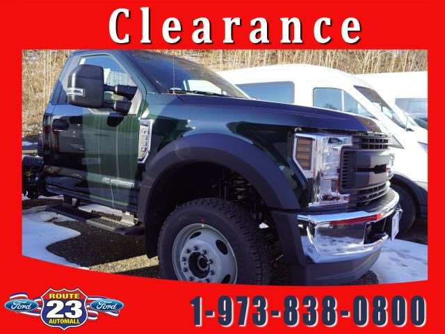 2019 F-550 Regular Cab DRW 4x4,  Cab Chassis #58860F - photo 1