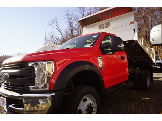 2019 F-550 Regular Cab DRW 4x4,  Rugby Dump Body #59078 - photo 3