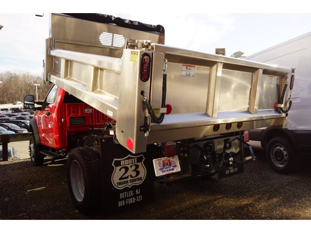 2019 F-550 Regular Cab DRW 4x4,  Rugby Eliminator LP Stainless Steel Dump Body #59078 - photo 4