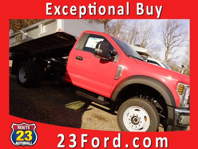 2019 F-550 Regular Cab DRW 4x4,  Rugby Eliminator LP Stainless Steel Dump Body #59078 - photo 1