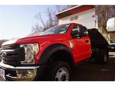 2019 F-550 Regular Cab DRW 4x4,  Rugby Eliminator LP Stainless Steel Dump Body #59078 - photo 3