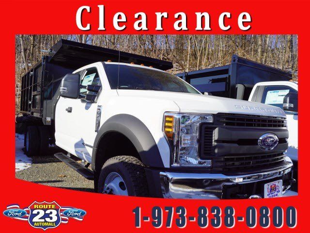 2019 F-450 Super Cab DRW 4x4,  Reading Landscape Dump #59115 - photo 1