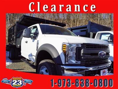 2019 F-450 Super Cab DRW 4x4,  Reading Landscaper SL Landscape Dump #59115 - photo 1