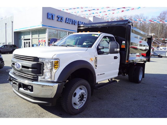2019 F-550 Regular Cab DRW 4x4,  Rugby Landscape Dump #59433 - photo 3