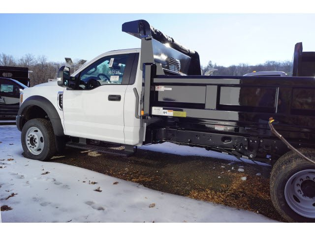 2019 F-550 Regular Cab DRW 4x4,  Rugby Eliminator LP Steel Dump Body #59484 - photo 2