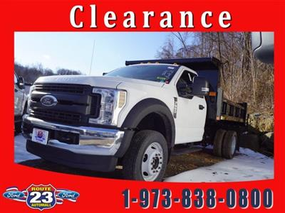 2019 F-550 Regular Cab DRW 4x4,  Rugby Eliminator LP Steel Dump Body #59484 - photo 1