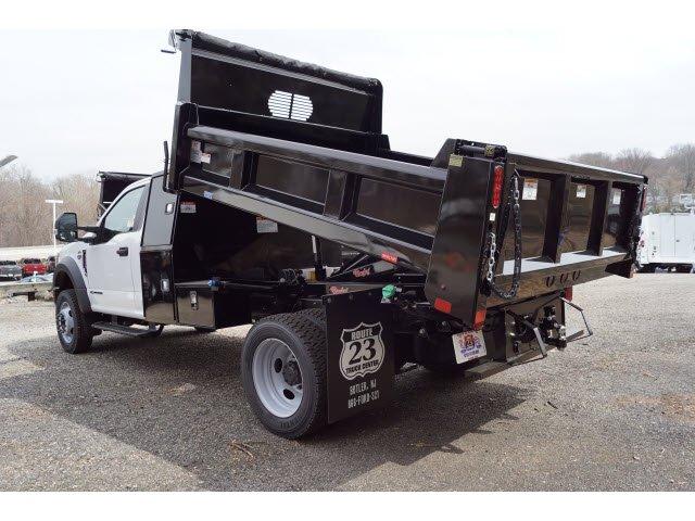 2019 F-550 Regular Cab DRW 4x4,  Rugby Eliminator LP Steel Dump Body #59561 - photo 5