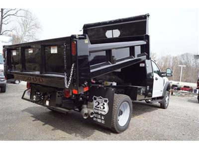2019 F-550 Regular Cab DRW 4x4,  Rugby Eliminator LP Steel Dump Body #59561 - photo 2