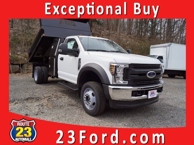2019 F-550 Regular Cab DRW 4x4,  Reading Dump Body #59624 - photo 1