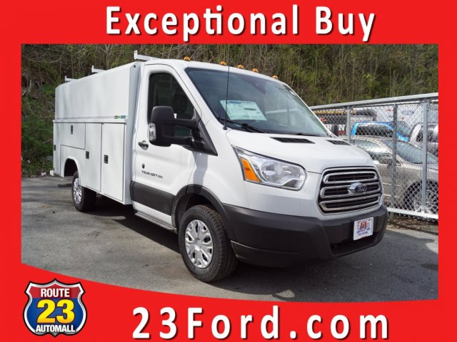 2019 Transit 350 4x2,  Reading Aluminum CSV Service Utility Van #59716 - photo 1