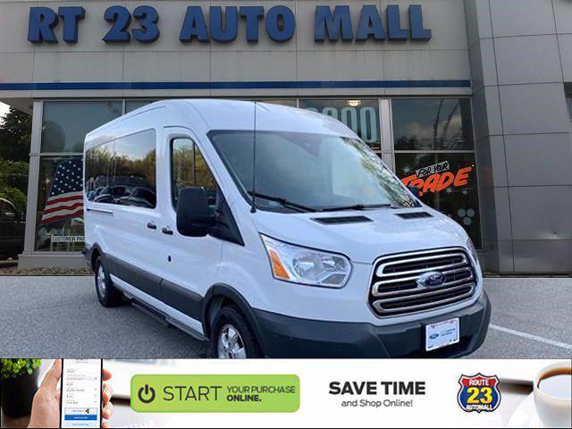 2018 Ford Transit 350 Med Roof 4x2, Passenger Wagon #59819AR - photo 1