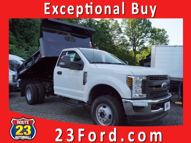 2019 F-350 Regular Cab DRW 4x4,  Rugby Dump Body #59989 - photo 1