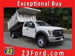 2019 F-450 Super Cab DRW 4x4,  Dejana Landscape Dump #61140F - photo 1
