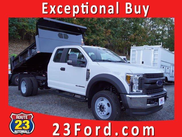 2019 F-550 Super Cab DRW 4x4, Rugby Eliminator LP Steel Dump Body #61264F - photo 1