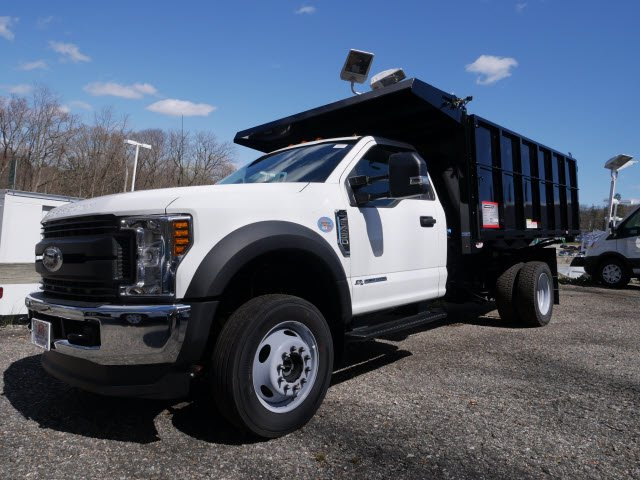 2019 F-450 Regular Cab DRW 4x4, Reading Landscaper SL Landscape Dump #61343 - photo 3