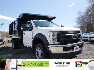 2019 F-450 Regular Cab DRW 4x4, Reading Landscaper SL Landscape Dump #61343 - photo 1