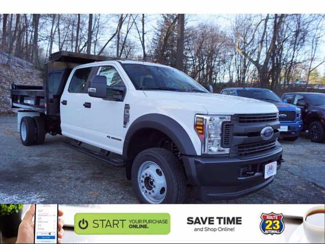 2019 F-550 Crew Cab DRW 4x4, Reading Marauder Dump Body #61372 - photo 1
