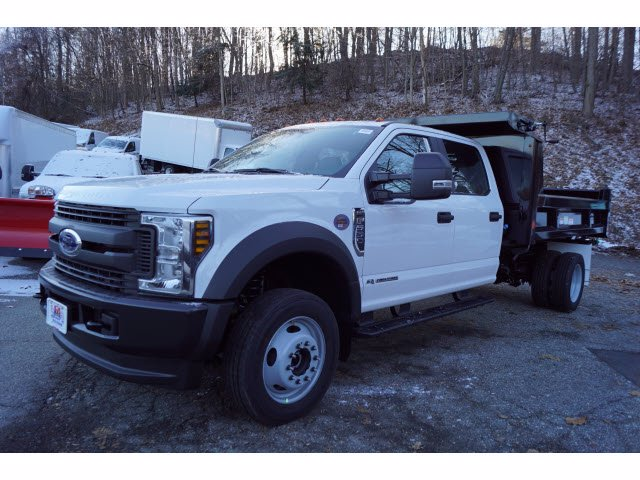 2019 F-550 Crew Cab DRW 4x4, Reading Marauder Dump Body #61372 - photo 4