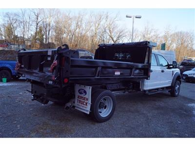 2019 Ford F-550 Crew Cab DRW 4x4, Reading Marauder Dump Body #61372 - photo 2