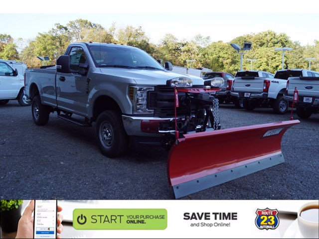 2019 Ford F-250 Regular Cab 4x4, Western Snowplow Pickup #61398 - photo 1