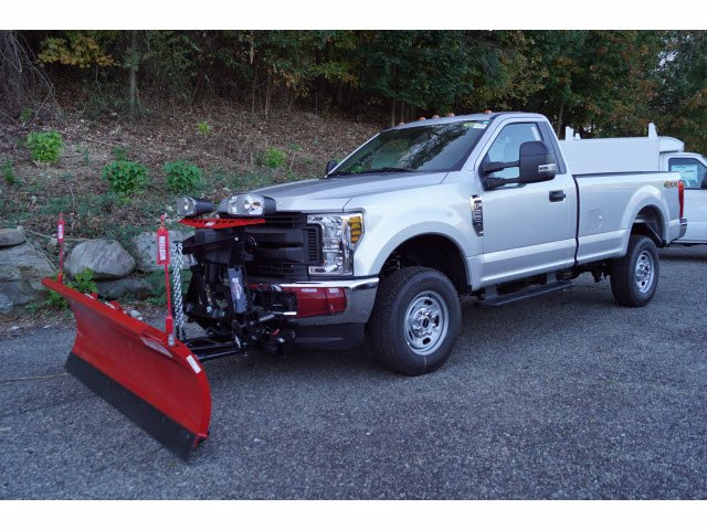 2019 Ford F-250 Regular Cab 4x4, Western Snowplow Pickup #61398 - photo 4