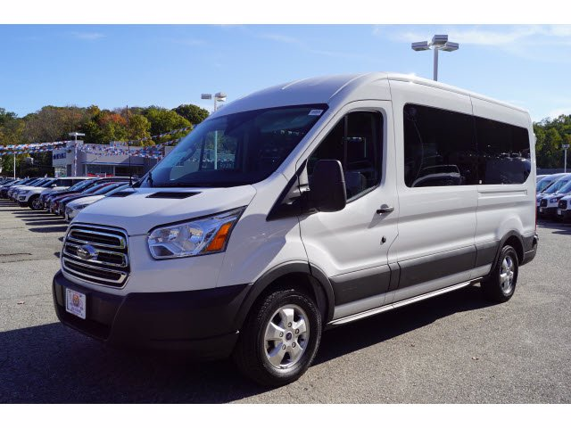 2019 Transit 350 Med Roof 4x2,  Passenger Wagon #61544A - photo 4
