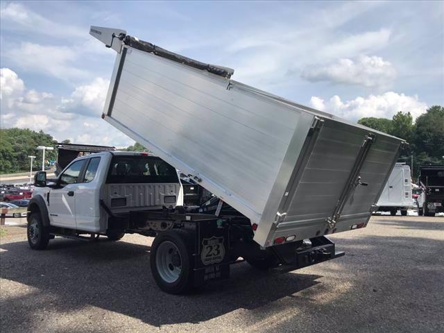 2019 Ford F-550 Super Cab DRW 4x4, Duramag Landscape Dump #61737 - photo 8