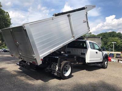 2019 Ford F-550 Super Cab DRW 4x4, Duramag Landscape Dump #61737 - photo 2