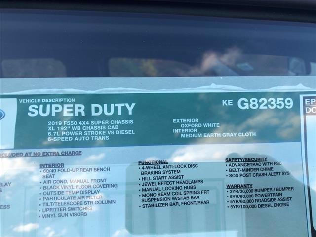 2019 Ford F-550 Super Cab DRW 4x4, Reading Landscaper SL Landscape Dump #61758 - photo 11