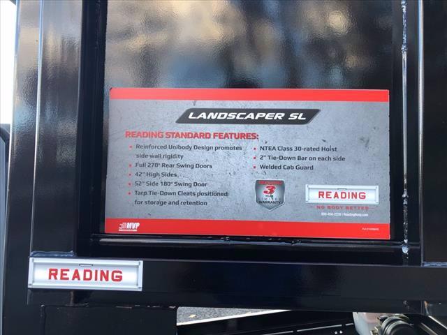 2019 Ford F-550 Super Cab DRW 4x4, Reading Landscaper SL Landscape Dump #61758 - photo 6
