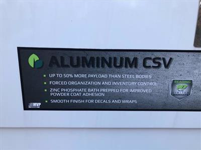 2019 Ford Transit 350 4x2, Reading Aluminum CSV Service Utility Van #61893 - photo 10