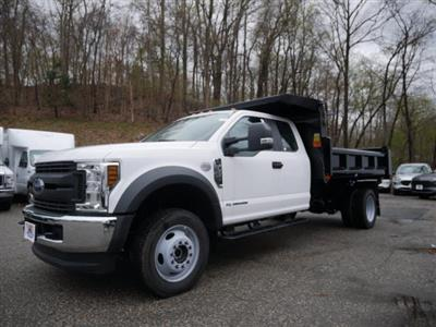 2019 Ford F-550 Super Cab DRW 4x4, Rugby Eliminator LP Steel Dump Body #62006 - photo 3