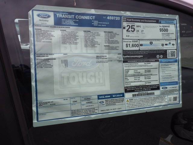 2020 Ford Transit Connect FWD, Empty Cargo Van #62043 - photo 13